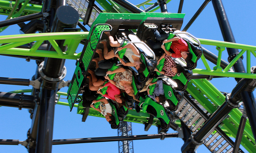 Green Lantern Reopens After Nine Month Downtime Parkz Theme Parks