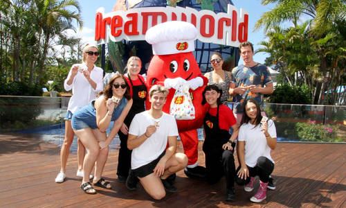 Australia's first official Jelly Belly store opens at Dreamworld tomorrow