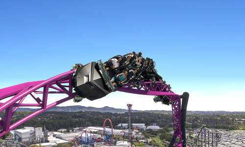 Warner Bros. Movie World Announces Southern Hemisphere's Largest HyperCoaster