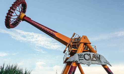 Adventure World's Mi3 thrill ride will be an Intamin Gyro Swing like Dreamworld's The Claw