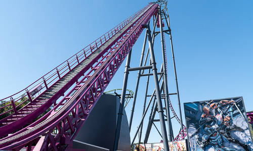 The DC Rivals HyperCoaster will officially open at  Warner Bros. Movie World on Friday