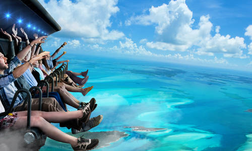 Dreamworld takes bold steps towards recovery with i-Ride flying theatre