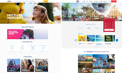 Dreamworld, Movie World launch newly refreshed websites