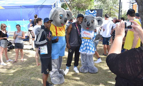 Dreamworld Joins Commonwealth Games Celebrations at Broadbeach