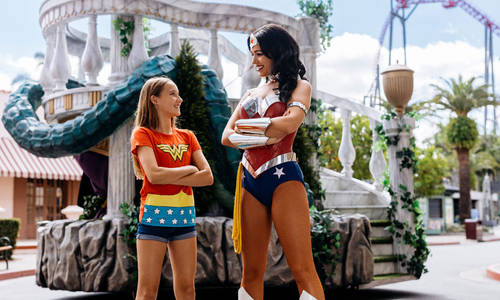 DC Super Heroes and Super-Villains take over Warner Bros. Movie World