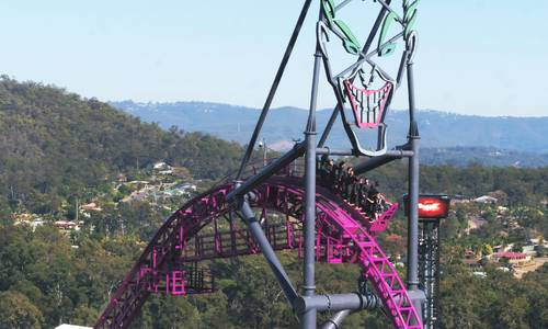 Experience the DC Rivals HyperCoaster from a New Perspective