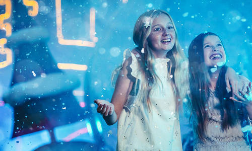 Experience a Magical Night of Festivities with Warner Bros. Movie World's White Christmas