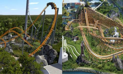 Dreamworld and Sea World's new roller coasters thrown into doubt amid coronavirus financial chaos