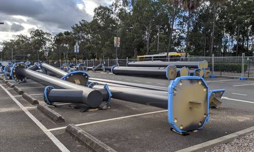 New roller coaster parts arrive as Dreamworld sits in lockdown