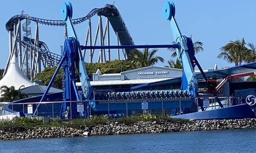 Sea World's Vortex thrill ride commences testing ahead of expected December opening