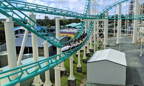 Gold Coaster opens, Steel Taipan construction progresses at Dreamworld