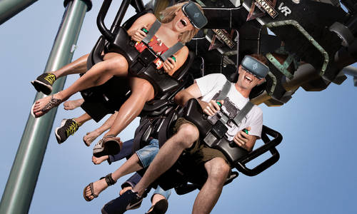 The Southern Hemisphere's First Virtual Reality Coaster  Experience is now open at Warner Bros. Movie World