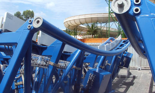 Parts arrive for Wet'n'Wild's latest