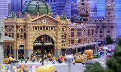 Inside Legoland Discovery Centre Melbourne