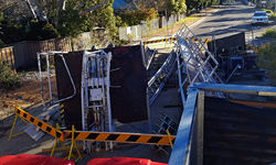 Orphan Rocker roller coaster crumbles at Katoomba's Scenic World