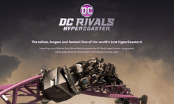 Movie World's DC Rivals HyperCoaster mini-site answers all the big questions