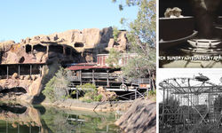 Dreamworld's Eureka Mountain Mine Ride: a roller coaster dating back to the 1950s