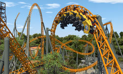 Dreamworld's new launched roller coaster puts them back in the game