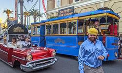 An Afternoon at Warner Bros. Movie World's Hooray for Hollywood parade.