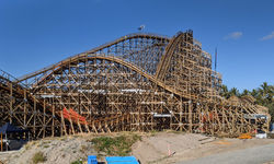 Sea World's wooden coaster delays changes the theme park landscape this summer – potentially for the better