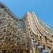 Sea World's dormant beast: up close with the Leviathan wooden roller coaster