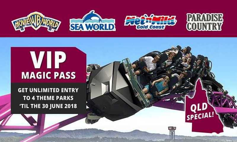 QLD Residents VIP Pass