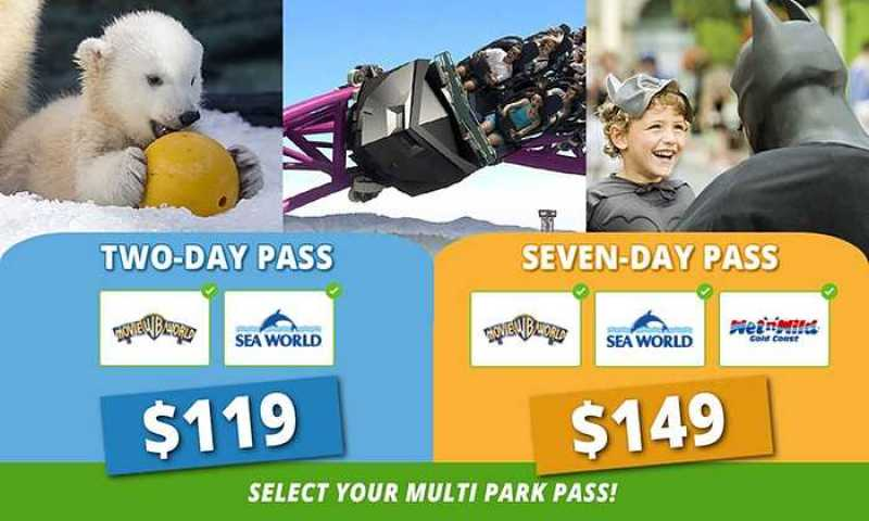 Save  On 2 and 7 Day Passes