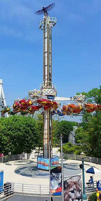 Photos of Flying Falcon at Hersheypark | Parkz - Theme Parks