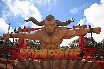 Photos Of The Rampage At Adventure World Parkz Theme Parks