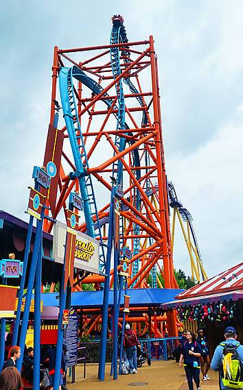 Photos Of Tempesto At Busch Gardens Williamsburg Parkz Theme Parks