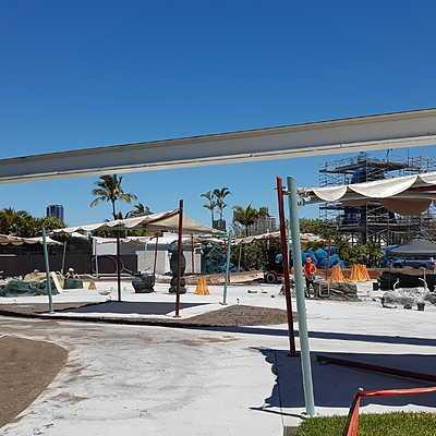 Castaway Reef Construction