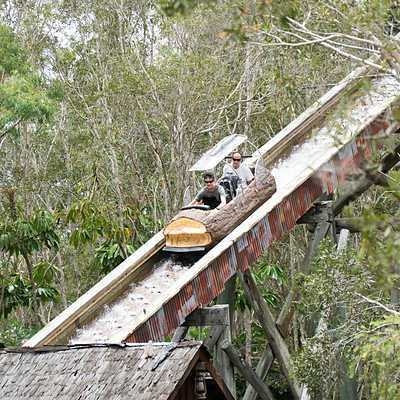 Log Ride canopies