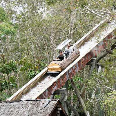 Log Ride canopies