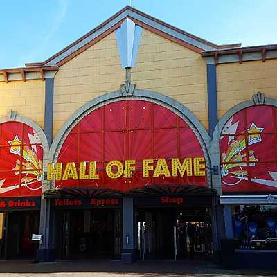 Walibi Holland Entry Plaza
