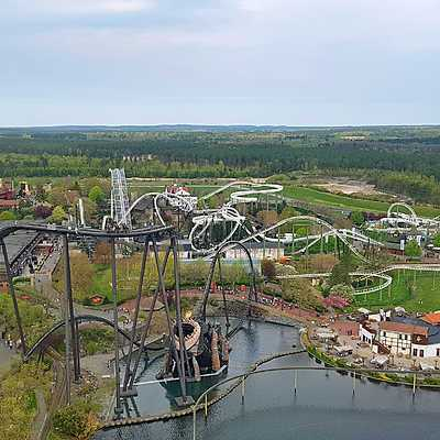 Heide Park from above